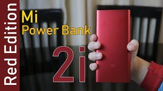 Mi Power Bank 2i Red Edition 10000 mAh, two way quick charge, Price Rs. 899