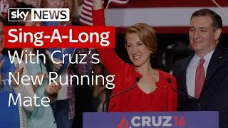 Sing-A-Long With Ted Cruzs New Running Mate