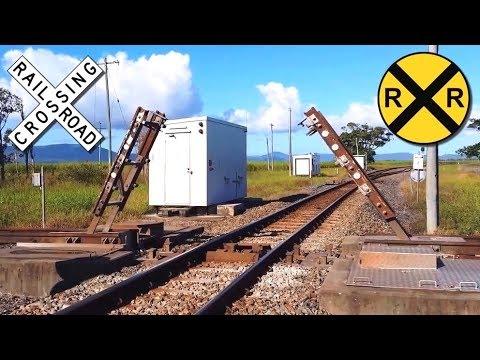 Amazing Diamond Railway Crossing