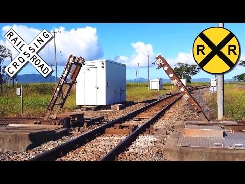 Unusual Railway Crossing
