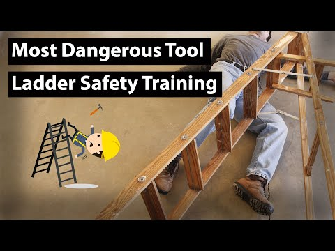 the-most-dangerous-tool-|-ladder-safety-training,-osha-rules,-fall-protection,-workplace-safety