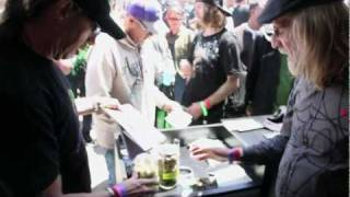 Jorge Cervantes with Subcool of TGA Genetics 2011 High Times Medical Cannabis Cup