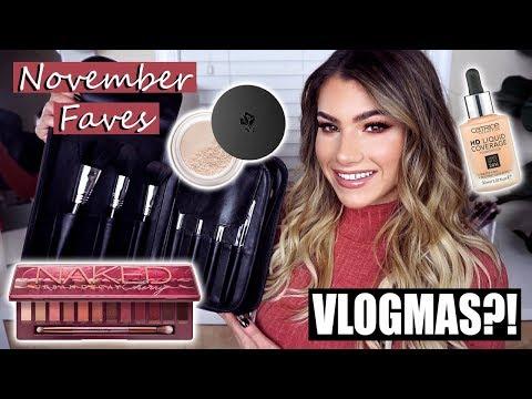 November Favorites & VLOGMAS?! | Kayleigh Noelle thumbnail
