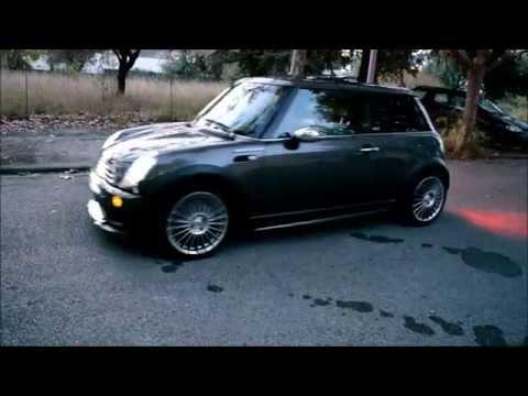 mini r50 jcw 's kit bumper dectane dayline headlights tuning ( r52 r 53) revolution movie