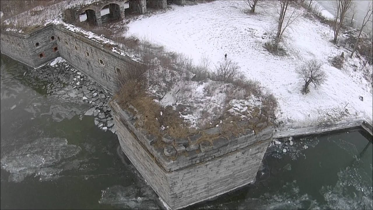 Fort Montgomery in the winter