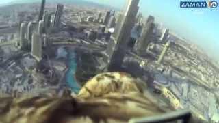 Kamera ile Uçan Kartal işte Gerçek Kuş Bakışı