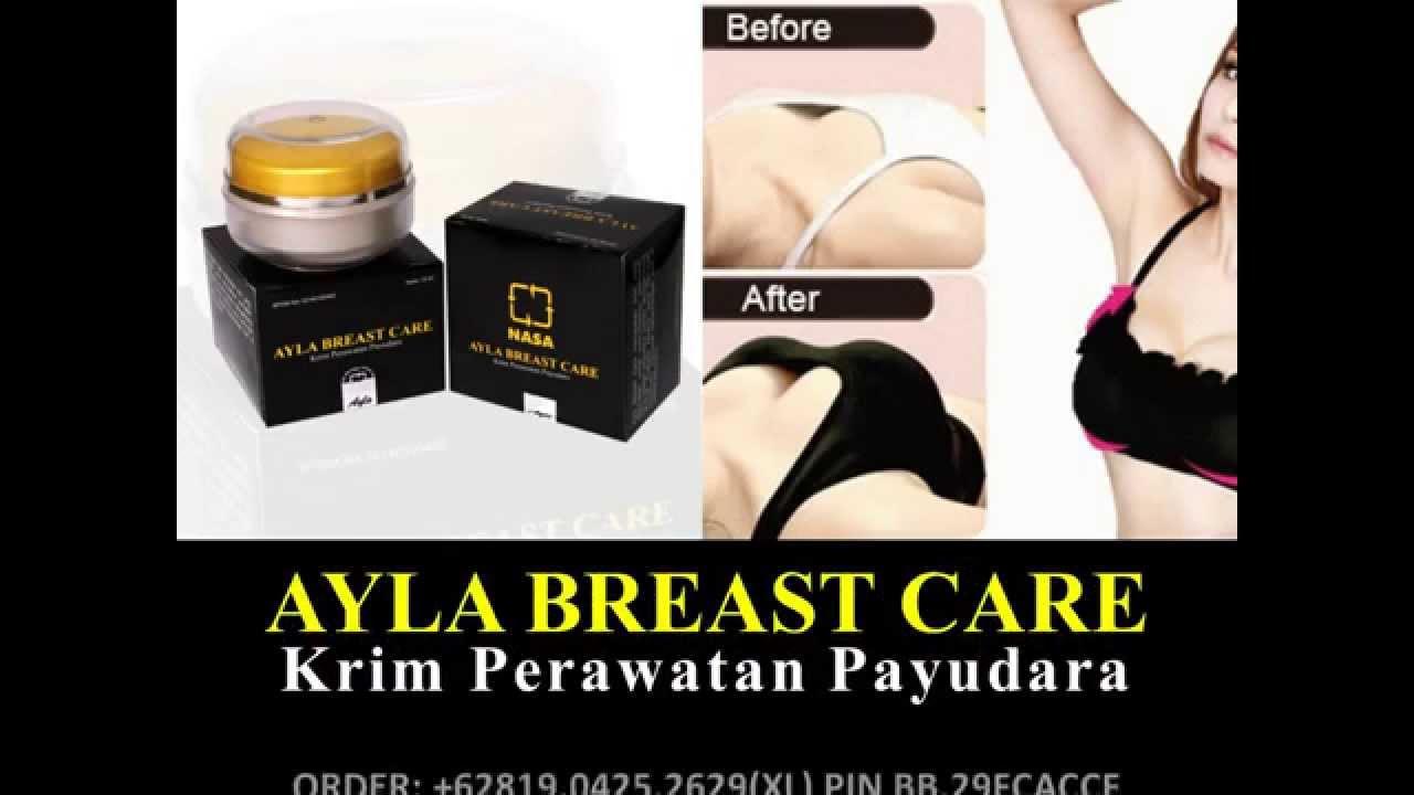 Pembesar Payudara Ayla Breast Care Cream Pemontok Pengencang 081904252629xl Youtube