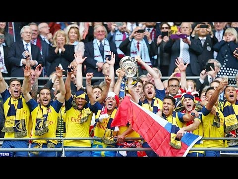ARSENAL - The WINNER FA Cup 2015 - Road to Wembley HD