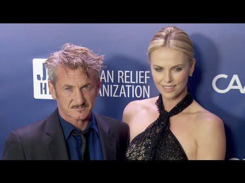 Sean Penn & Charlize Theron at the Sean Penn & Friends Help Haiti Home 2015