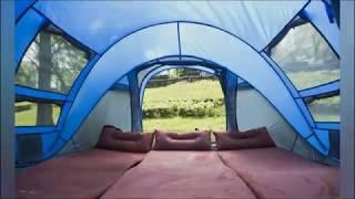 Обзор самораскрывающийся палатки с Алиэкспресс. Самосборная палатка для походов