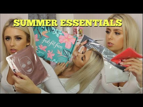 SUMMER HAUL  & UNBOXING FabFitFun