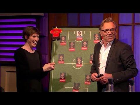 De perfecte Rode Duivels-opstelling volgens voetbalanalisten - RTL LATE NIGHT
