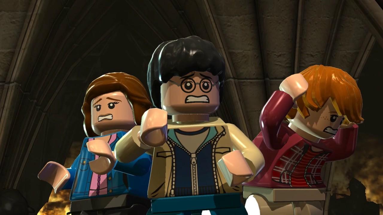 Lego Harry Potter Jahre 5 7 Part 64 Freeplay 100 Jahr 7 2 Verhangnisvolles Damonsfeuer Youtube