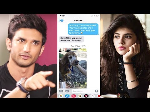 Sushant Singh Rajput EXPOSES Hindi Medium Actress Sanjana Sanghi After MOLESTATION Charge On Him