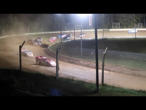 Dirt Track Races at Roaring Knob 9-15-18 Highlights Fireworks Wrecks