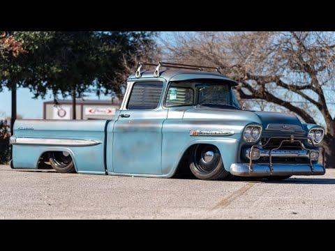"Mark ""TheLowLifeCo"" And His Custom Chevy Apache Pickup"