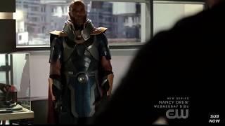 Arrow 8x01 - The Monitor Talks About Dark Archer