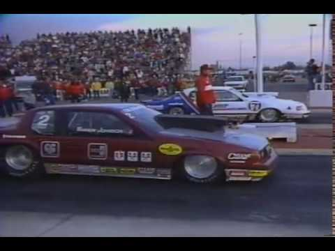Drag Racing 1985 NHRA 25th Winternationals PRO STOCK Final