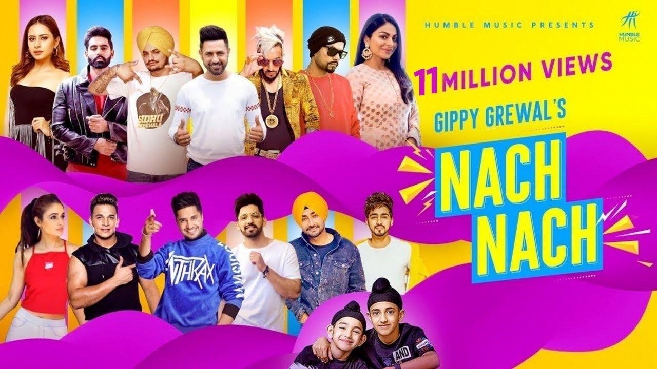 NACH NACH ( Full Video ) Gippy Grewal | Sidhu Moose Wala | Bohemia | Jassie Gill | Humble Music 2020