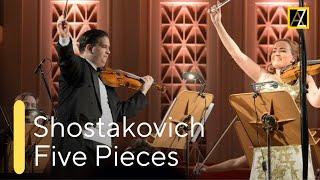 SHOSTAKOVICH: 5 Pieces For 2 Violins   Antal Zalai   Marianna Vasileva