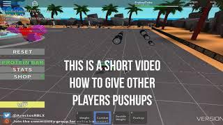 Como soltar flexões no levantamento de peso Simulator 2   Roblox