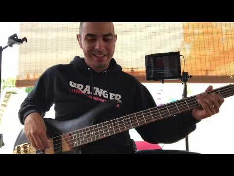 Israel Houghton Medley Bass Guitar Cover