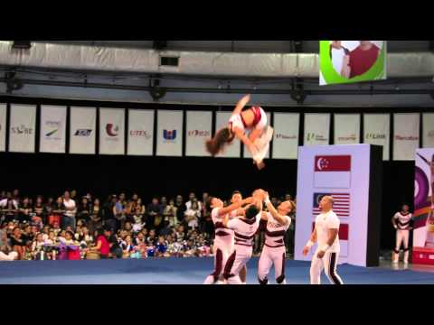 ★CASNCC 2014 - Atlas Perpsquad Gold - Coed Group Stunt - Philippines [HD]