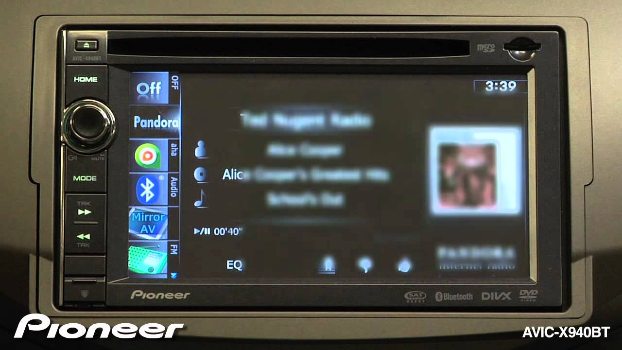 Pioneer AVIC-X940BT GPS Navigation Drivers for PC
