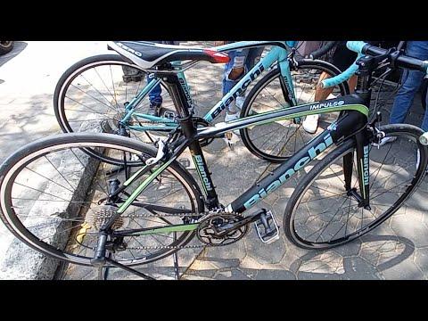 Bianchi มือ2 ชุดขับ105 Center Used Bike ตลาดนัดTOT เสือหมอบ Specดีๆ ราคาถูก Bianchi Merida Trek Java