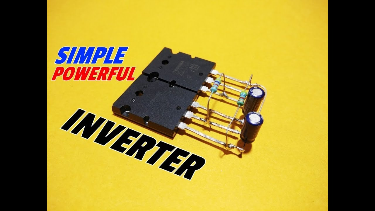 How To Make A Simple Inverter Circuit Using Transistor12v Dc Ac Wiring Diagram 220v Actransistor