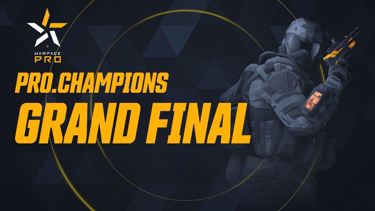 Турнир Warface PRO.Champions. Grand Final