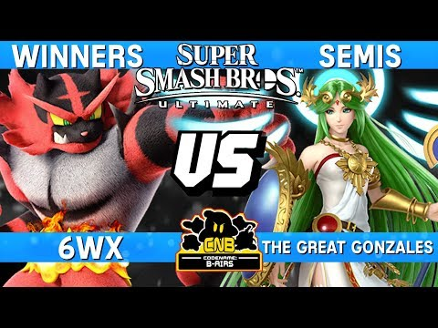 6WX's Incineroar Going IN on The Great Gonzales' Palutena - CNB 175 Smash Ultimate Tournament Set thumbnail