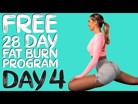 DAY 4 | FREE 28 DAY WORKOUT CHALLENGE | Active Recovery 28min Stretch | Protein Smoothie Recipe