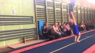 Соревнования по акробатике в Орле. Александр и Пересвет