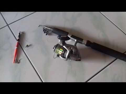 Peralatan MEMANCING IKAN Bagi Pemula (Joran, Reel, Benang Pancing)