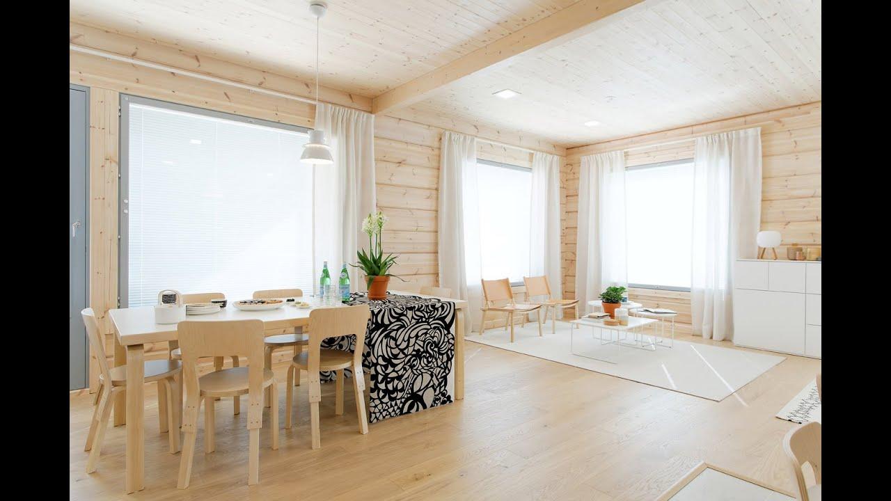 Kontio Harunire - The New Scandinavian Log Home - YouTube