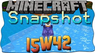 Minecraft 1.9 Snapshot 15w42 [Deutsch/German] - AUF WASSER LAUFEN, ITEMS AUTREPARIEREN