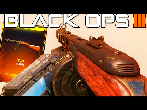 """NEW """"PPSH GAMEPLAY"""" in Black Ops 3! (NEW DLC WEAPONS)"""