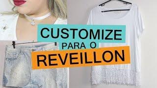 COMO CUSTOMIZAR ROUPAS PARA O ANO NOVO feat. Lila Pink | Customizando - Mariely Del Rey
