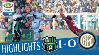 Sassuolo - Inter 1-0 - Highlights - Giornata 18 - Serie A TIM 2017/18