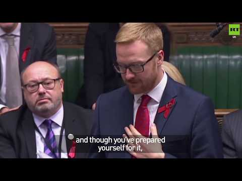 Labour MP announces he's HIV positive to House of Commons