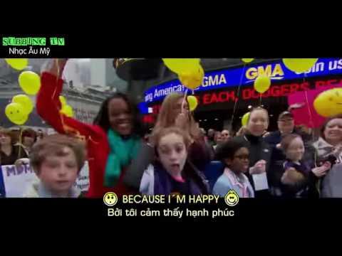 ► Happy Live   Pharrell Williams Lyrics+Vietsub   YouTube