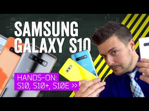 Galaxy S10 Hands On: No Surprises, No Compromises