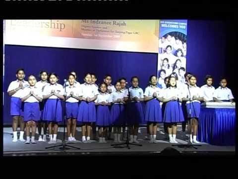 GIIS Videos_Sarva Dharma prayer by QT Primary choir, 2009