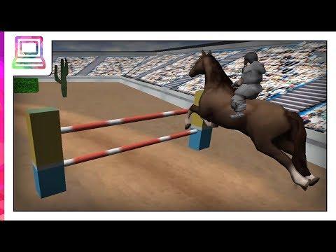 Horse Jumping - Horseback Riding 2017 Android Gameplay (Horse Game)