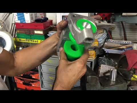 DIY Porsche 911 996 997 Transmission Mount Diagnosis Urethane Mounts Install Cantrell GT