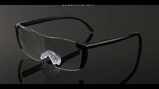 Увеличительные очки лупа из Китая видео обзор