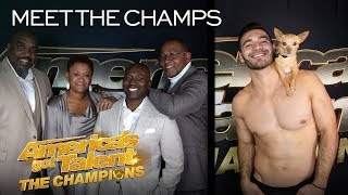 Christian & Percy and Voices of Service Want REDEMPTION! - America's Got Talent: The Champions