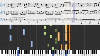 FREEDOM DiVE↓ + Glorious Crown - piano score & midi