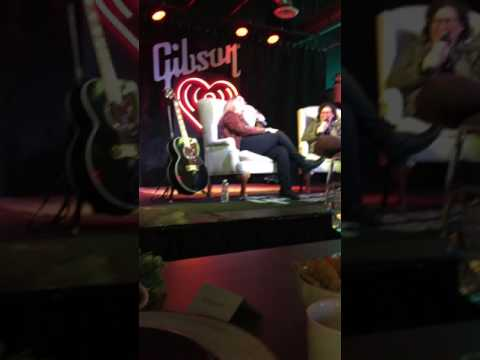 Melissa Etheridge  Fireside Chat at Gibson Austin room, SXSW March 12, 2017